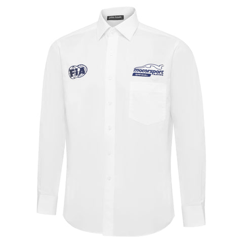 Mens Official Long Sleeve Business Shirt
