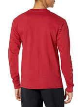Load image into Gallery viewer, Hanes Men's Long-Sleeve Beefy Henley T-Shirt