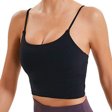 Load image into Gallery viewer, Lemedy Women Padded Sports Bra Fitness Workout Running Shirts Yoga Tank Top