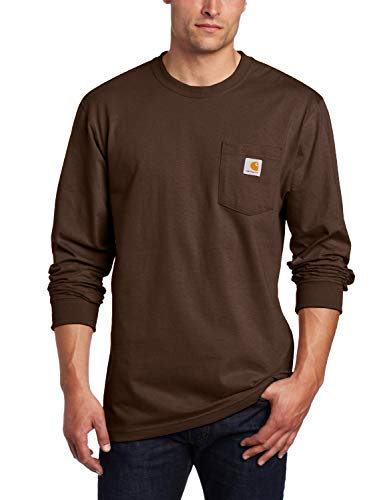 Carhartt Men's K126 Workwear Jersey Pocket Long-Sleeve Shirt