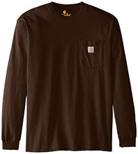 Load image into Gallery viewer, Carhartt Men's K126 Workwear Jersey Pocket Long-Sleeve Shirt
