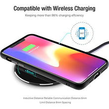 Load image into Gallery viewer, TOZO W1 Wireless Charger Thin Aviation Aluminum Computer Numerical Control Technology Fast Charging Pad Black (NO AC Adapter)
