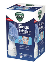 Load image into Gallery viewer, Vicks Personal Sinus Steam Inhaler with Soft Face Mask – Face Humidifier with Targeted Steam - Aids with Sinus Problems, Congestion and Cough, Works With Vicks VapoPads (not included)
