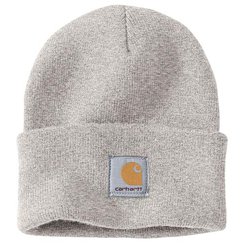 Carhartt Men's Knit Cuffed Beanie, Alabaster Heather, OFA