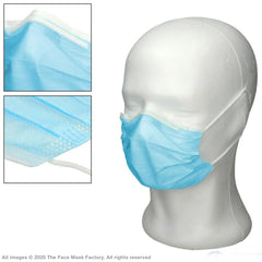 Pack Of 50 Adult Community Disposable Face Masks