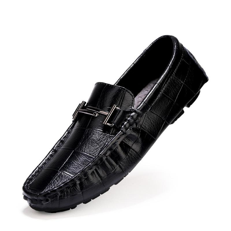 Pollogie™ Faux Leather Loafers