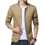 Pollogie™ British Style Solid Casual Jacket