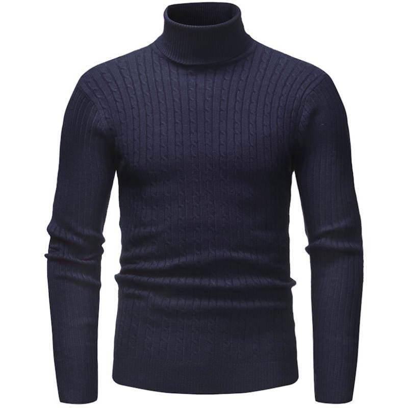 Pollogie™ Knitted Roll Neck Sweater