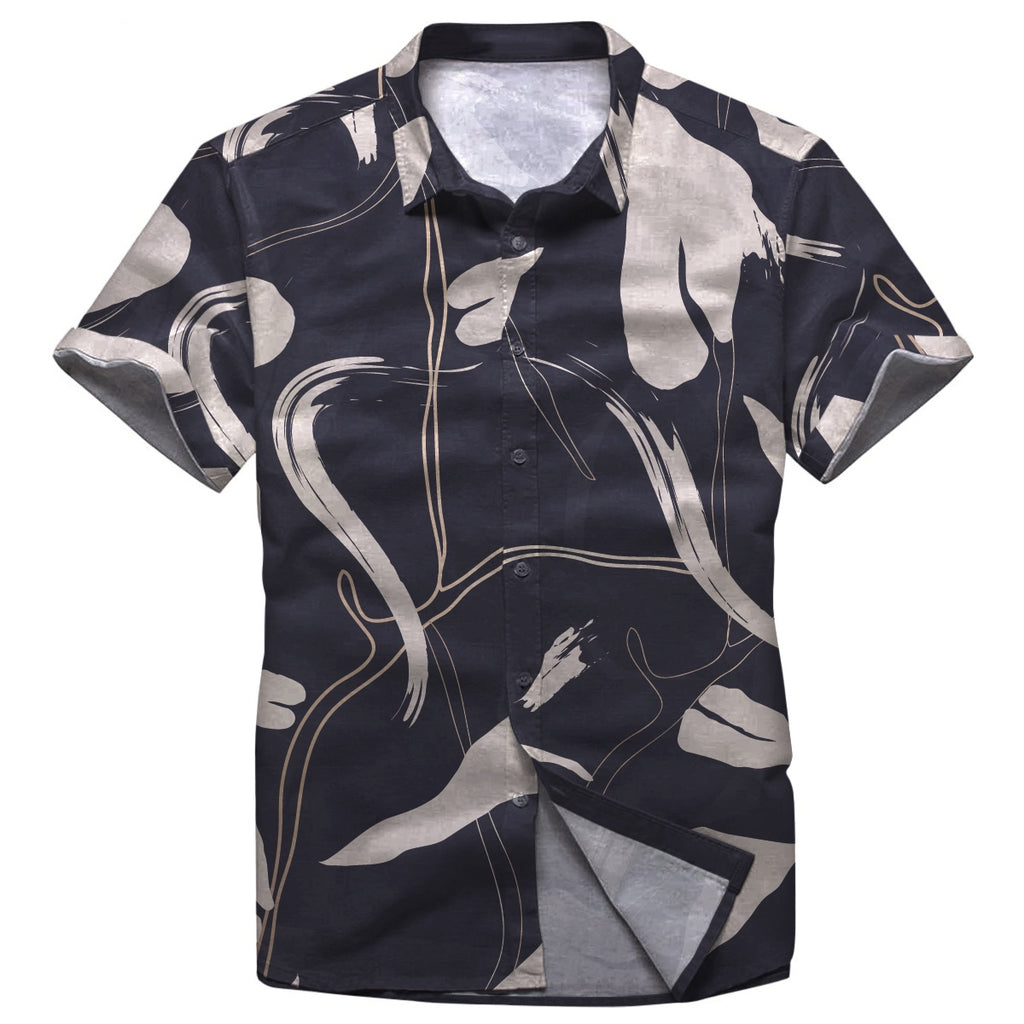 Pollogie™ Night Dance Button Shirt
