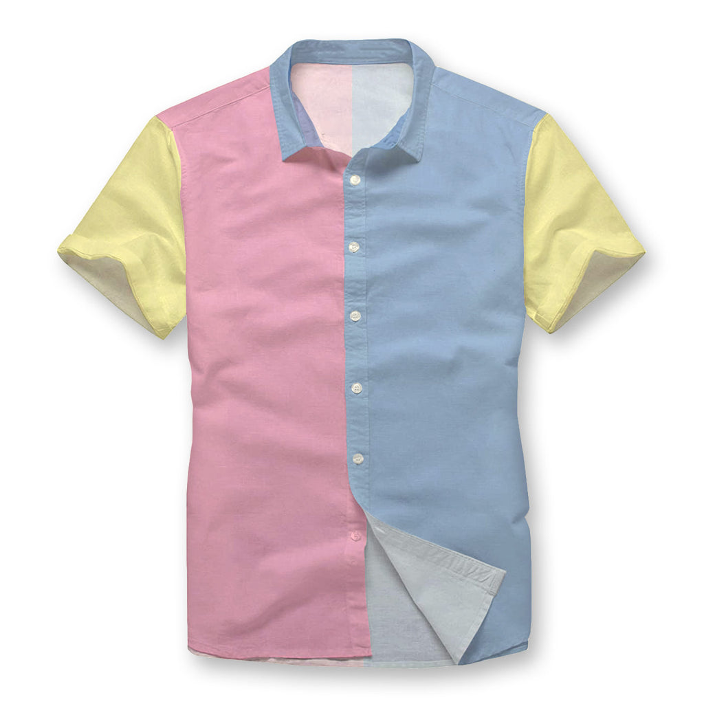 Pollogie™ Pastel Pallet Button Shirt