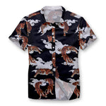 Pollogie™ Tiger's Heaven Button Shirt