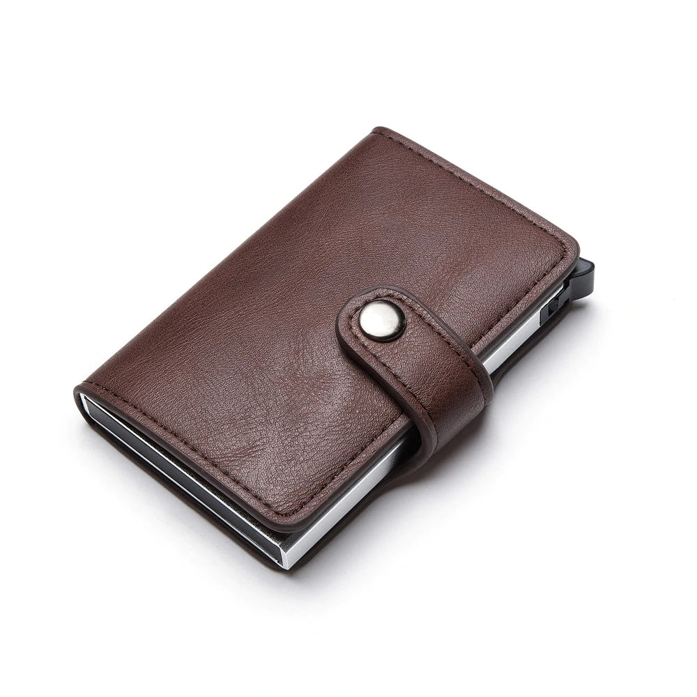 Pollogie™ Leather Card Holder Wallet