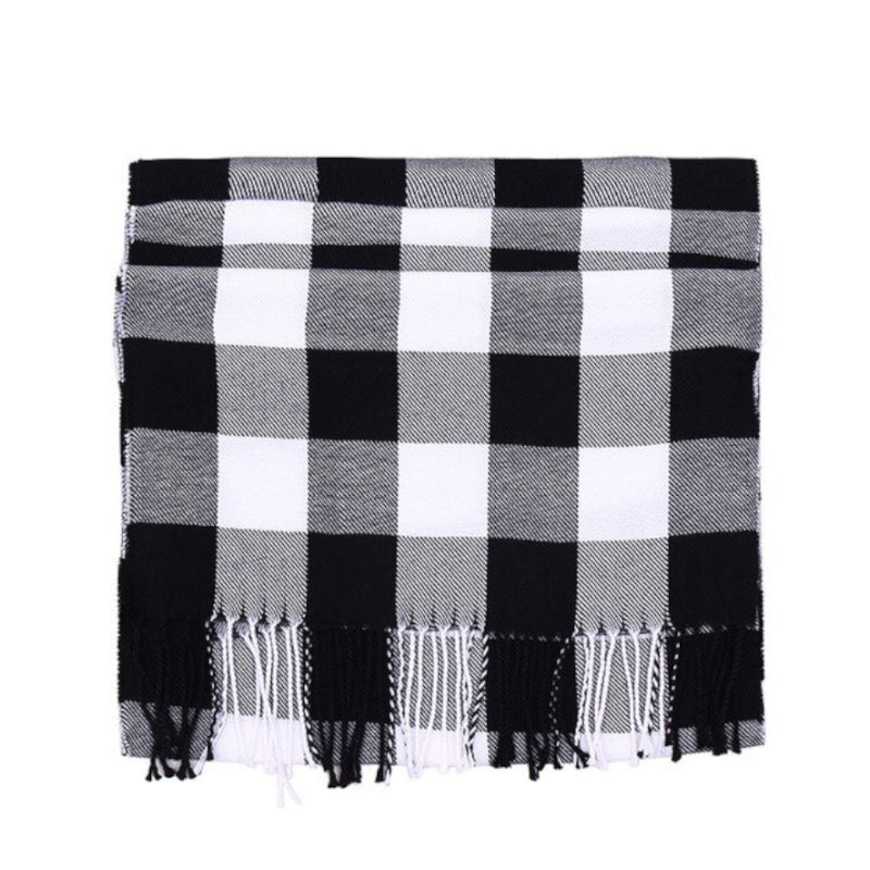 Pollogie™ Trendy Plaid Scarf