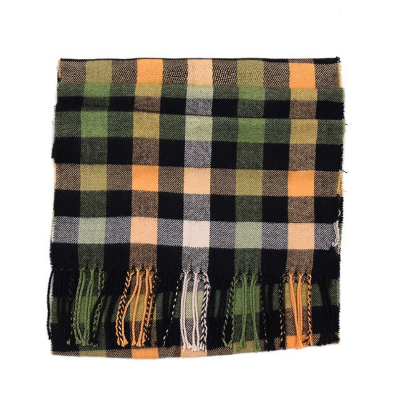 Pollogie™ Stylish Plaid Scarf