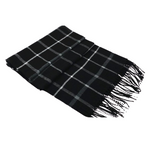 Pollogie™ Wool Plaid Scarf