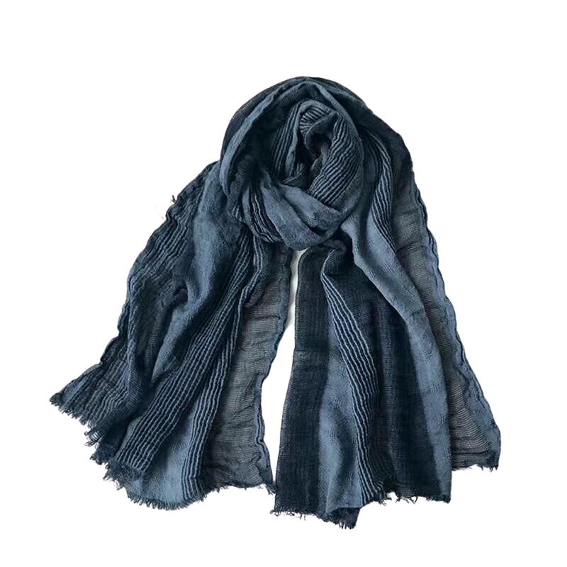 Pollogie™ Elegant Long Cotton Scarf