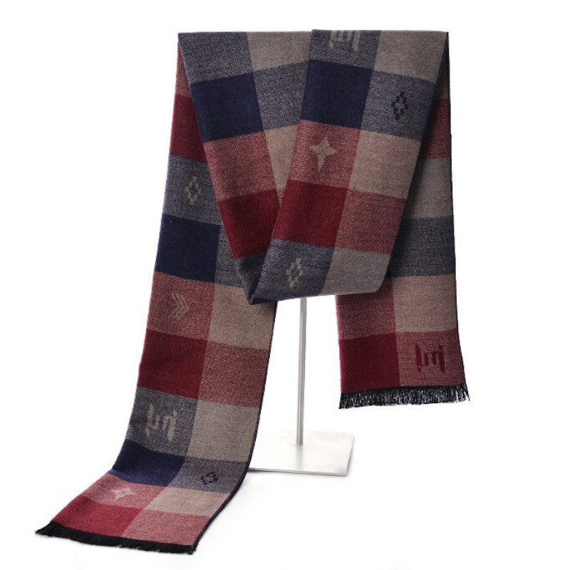 Pollogie™ Plaid Design Scarf