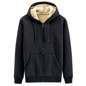 Pollogie™ Casual Cotton Zip Up Hoodie