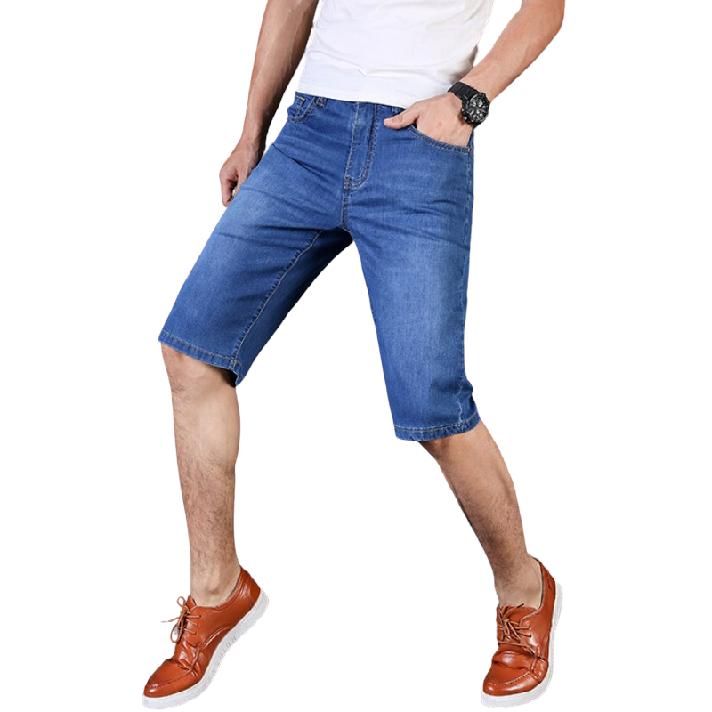 Pollogie™ Stretch Denim Shorts