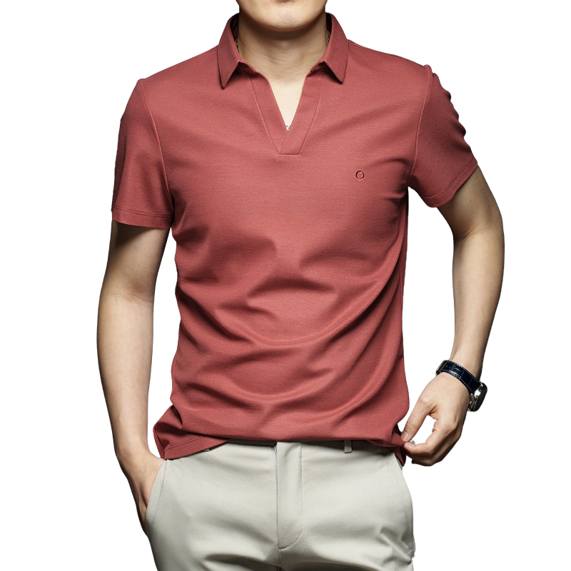 Pollogie™ V-Neck Polo Shirt