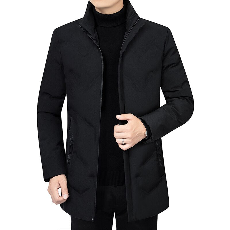 Pollogie™ Elegant Collar Warm Jacket
