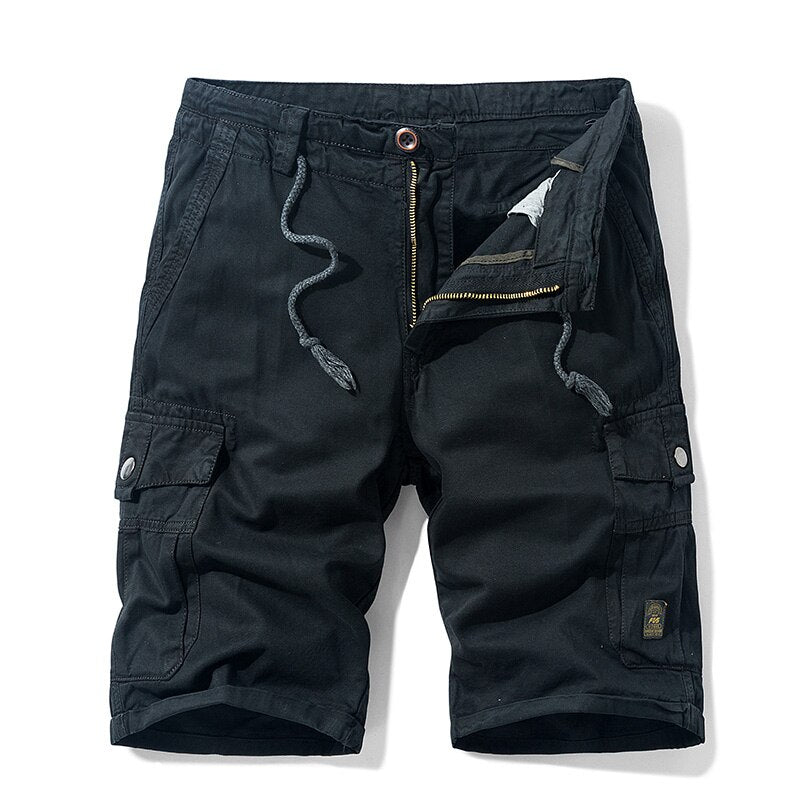 Pollogie™ Trekking Cotton Cargo Shorts