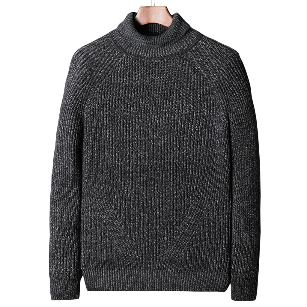 Pollogie™ Ribbed Turtleneck Pullover