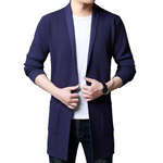 Pollogie™ Long Knitted Elegant Cardigan