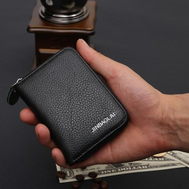 Pollogie™ Small Leather Wallet
