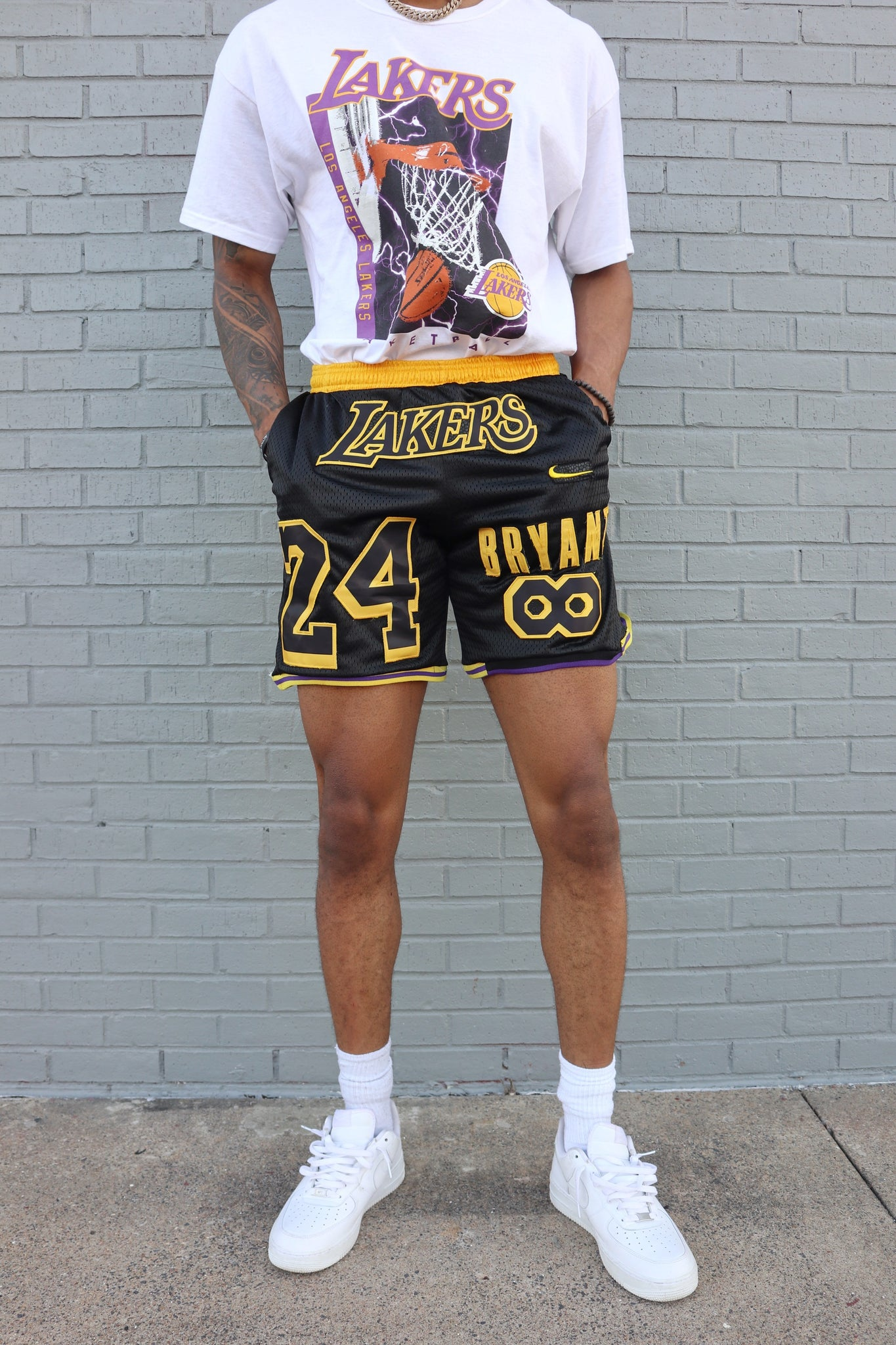 Jersey Short Los Angeles Lakers