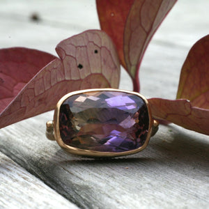 Big Amethyst Ring