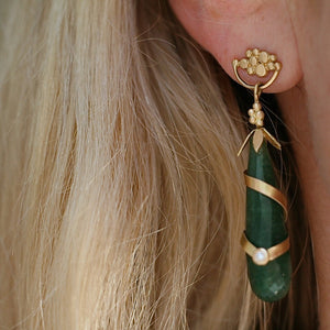 Calling Sophia Agat Earrings