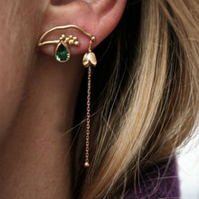 Load image into Gallery viewer, Elver Earring Pink Tourmaline