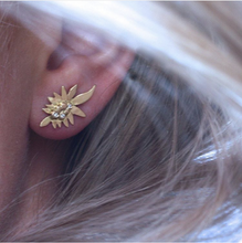 Load image into Gallery viewer, Palm Leaf Earrings