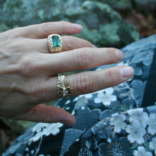 Load image into Gallery viewer, Tourmaline Pesce Ring