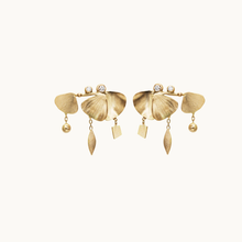 Load image into Gallery viewer, Gingko Dangle Earrings