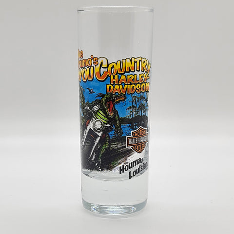 MBBC Screaming Gator Tall Shot Glass