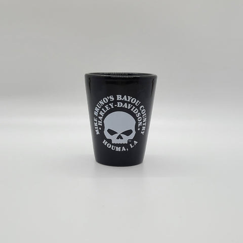 MBBC Black Skull Short Shot Glass