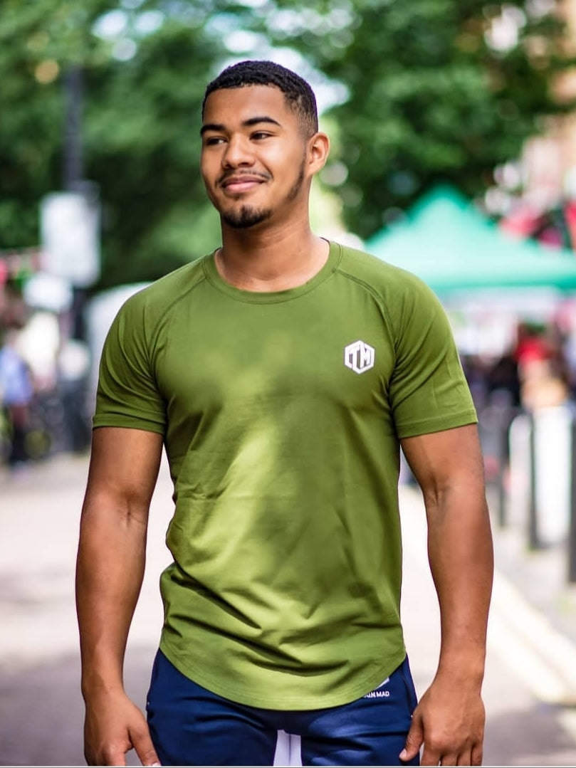 TM supremacy Cotton Tshirt Green- Men