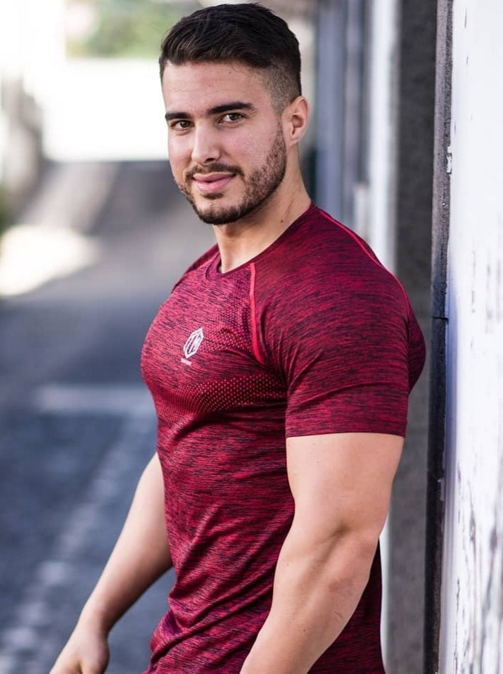 TM Supremacy II Seamless Tshirt Red - Men