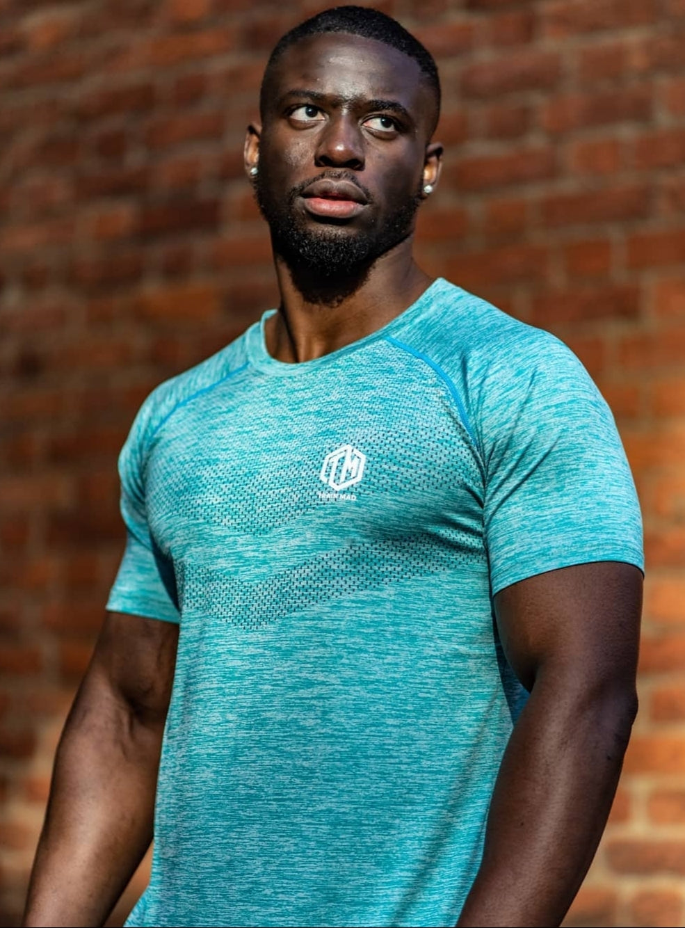 TM Supremacy II Seamless Tshirt Turquoise - Men