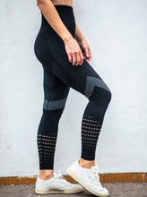 Load image into Gallery viewer, TM Power Seamless Leggings Black