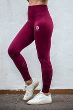 Load image into Gallery viewer, TM Power Seamless Leggings Red