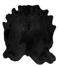 Load image into Gallery viewer, Natural Black Rug #568