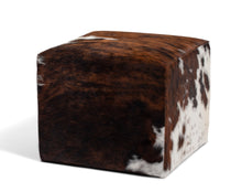 Load image into Gallery viewer, Natural Tricolor Ottoman #133, Large