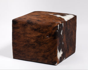Natural Tricolor Ottoman #133, Large