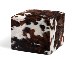 Natural Tricolor Ottoman #134, Large