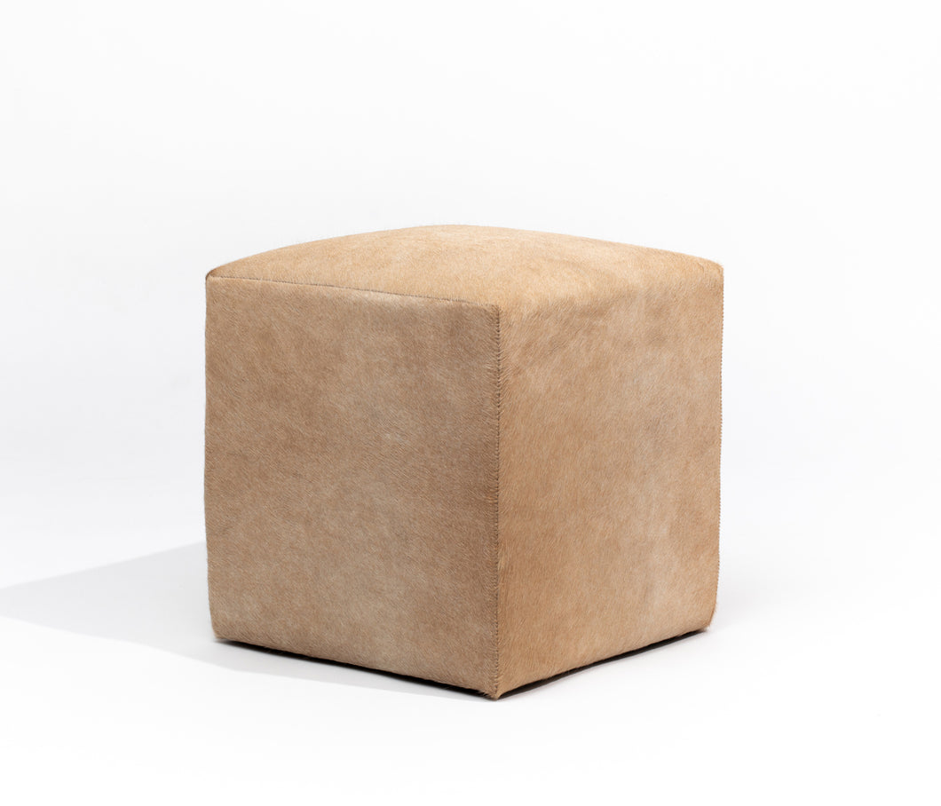 Natural Blonde Ottoman #952, Small