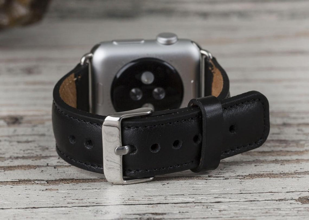 Apple Watch Leather Band Classic Black