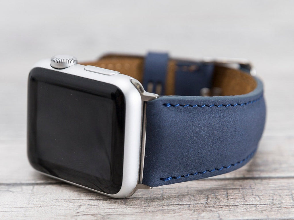 Apple Watch Leather Band Classic Blue